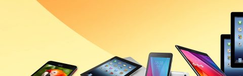 iPad, Samsung tablet